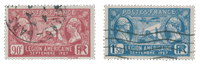 France 1927 - YT 244-45 - Cancelled