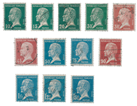France 1923 - YT 170-81 - Cancelled