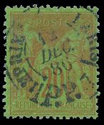 France 1876 - YT 96 - Cancelled