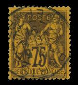 France 1876 - YT 99 - Cancelled