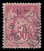 France 1876 - YT 98 - Cancelled