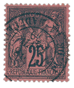 France 1876 - YT 91 - Cancelled