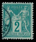France 1876 - YT 74 - Cancelled