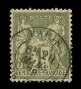 France 1876 - YT 72 - Cancelled