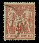 France 1876 - YT 70 - Cancelled