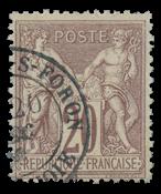 France 1876 - YT 67 - Cancelled