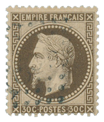 France 1863 - YT 30b - Cancelled