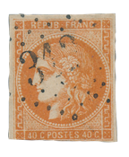 France 1870 - YT 48 - Cancelled