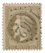 France 1863 - YT 30 - Cancelled