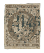 France 1870 - YT 47 - Cancelled