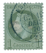 France 1863 - YT 28A - Cancelled