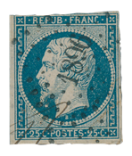 France 1853 - YT 15 - Cancelled