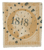 France 1853 - YT 13 - Cancelled