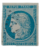 France 1849 - YT 4 - Cancelled
