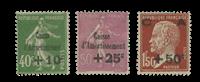 France 1930 - YT 253-55 - Unused