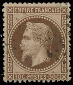 Frankrig - YT 30 - Stemplet