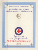 France - Red Cross 1953 YT 2002 - Mint Booklet
