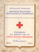 France - Red Cross mint 1954 Y&T 2003