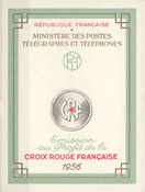 France - Red Cross 1956 YT 2005 - Mint Booklet