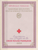 France - Red Cross mint 1958 Y&T 2007
