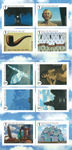 Belgien - René Magritte - Postfrisk hæfte