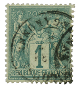 France 1876 - YT 61 - Cancelled