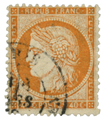 France 1870 - YT 38 - Cancelled