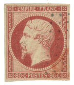 France 1854 - YT 17A - Cancelled