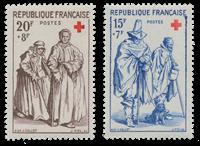 France 1957 - YT 1140/41 - Mint