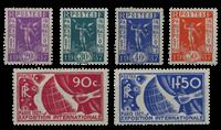 France - YT 322-27 - Mint