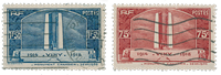 France 1936 - YT 316-17 - Cancelled