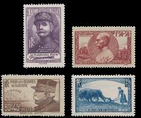 France 1940 - YT 454-57 - Mint