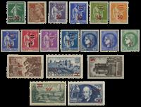 France 1940 - YT 476-93 - Mint