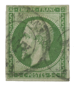 France 1854 - YT 12 - Cancelled