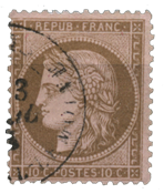 France 1873 - YT 58 - Cancelled