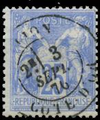France 1876 - YT 68 - Cancelled