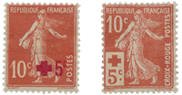 France 1914 - YT 146/147 - Unused