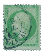 France 1862 - YT 20 - Cancelled