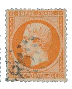 France 1862 - YT 23 - Cancelled