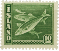 Iceland AFA no 216 mint