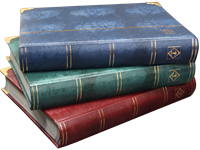 Indstiksbog - assorterede farver - Str. A4 - 64 sorte sider - krokodille-look og metalhjørner