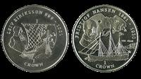 Nansen & Eriksson - 2 coins