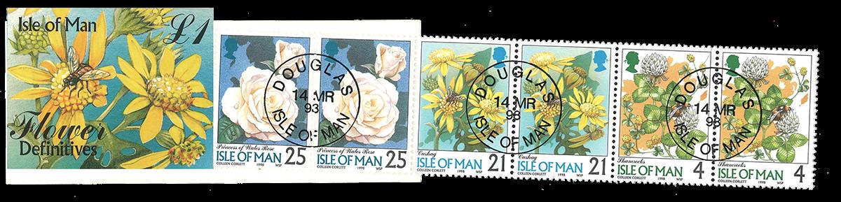 Isle og Man blomster hæfte