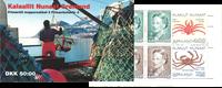 Grønland - Krabbe nr. 3 Hæfte - Postfrisk