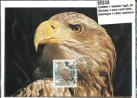 SAKSA - 4 maksimikorttia, lintuja, täydellinen sarja