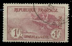 France 1917 - YT 154 - Cancelled