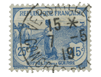 France 1917 - YT 151 - Unused