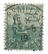 France 1917 - YT 149 - Cancelled