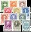 Belgien 1952 - OBP 880-91 - Ubrugt