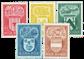 Belgien 1946 - OBP 743-47 - Ubrugt